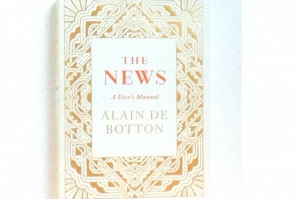 Alain de Botton The News Haberler kitap kapak kapağı