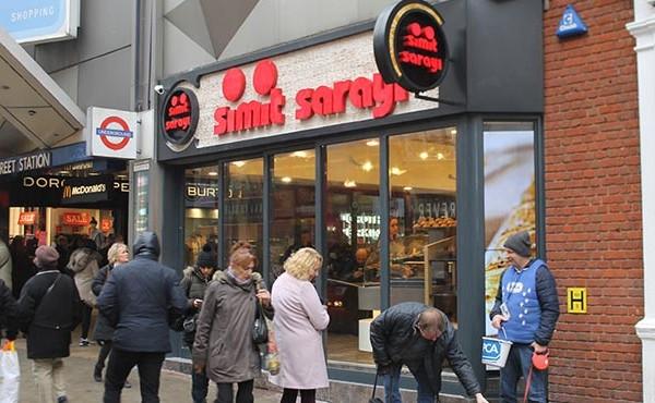 Simit Sarayı Londra Oxford Bond Street bagel Turkish bakery London