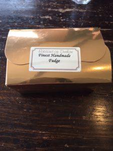 Fudge İngiliz tatlısı Robsons of Durham tatlı elyapımı